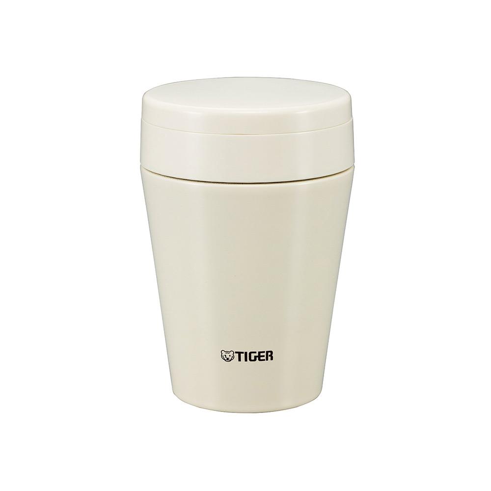 日本直邮虎牌tiger 保温杯焖烧杯0.38升白色mcc-c038