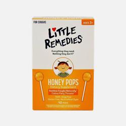 美国直邮包邮包税Little Colds缓解宝宝儿童咳嗽棒棒糖10支  两件装