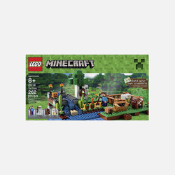 美国直邮LEGO乐高Minecraft主题农场 21114