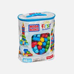 美国直邮Mega Bloks美高儿童积木玩具80片经典款