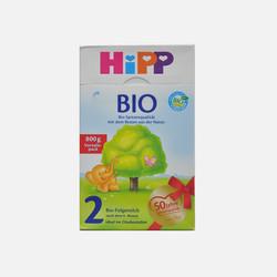 【包邮包税6盒装】德国直邮喜宝HIPP有机奶粉2段800g