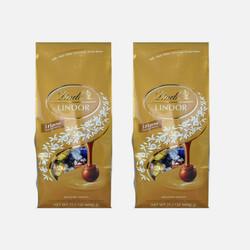 【包邮包税】美国直邮Lindt Lindor瑞士莲松露夹心软心巧克力球混合装 600g*2袋装