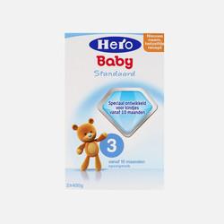【包邮包税】荷兰Hero Baby美素奶粉3段(10-12个月宝宝)800g保税区急速发货【保质期:2017年12月】