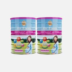 包邮包税澳洲直邮OZ Farm澳美滋孕期哺乳孕妇奶粉900g*2罐