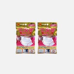 【包邮包税2包装】日本KOWA三次元高密着口罩PM2.5防尘防雾霾5枚 女款