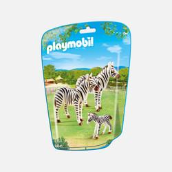 新加坡直邮【包邮包税】摩比Playmobil 斑马一家