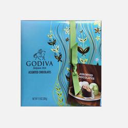 【包邮包税】美国直邮GODIVA歌帝梵巧克力新款蓝色清新礼盒装 27块 333g