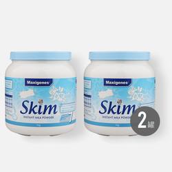 【包邮包税2罐】澳洲美可卓maxigenes蓝胖子脱脂奶粉  1kg*2罐 中老年学生成人牛奶粉