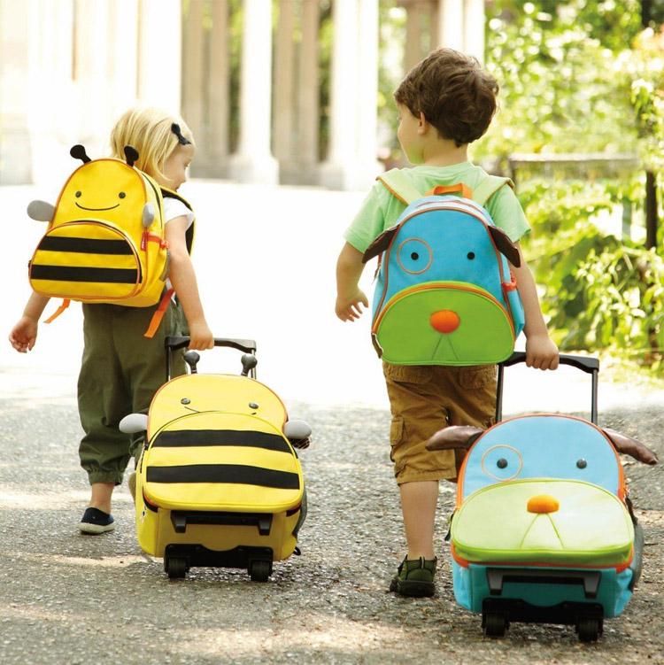 宝贝格子:幼儿园小伙伴都在背的skip hop zoo,你家的